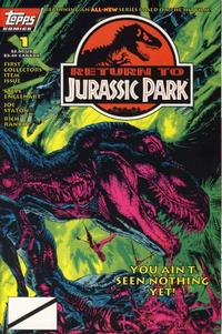 Cover Thumbnail for Return to Jurassic Park (Topps, 1995 series) #1