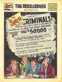 Cover Thumbnail for The Spirit (Register and Tribune Syndicate, 1940 series) #11/25/1951