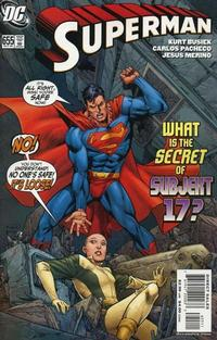 Cover for Superman (DC, 2006 series) #655