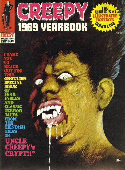 Cover for Creepy Yearbook (1968 series) #1969