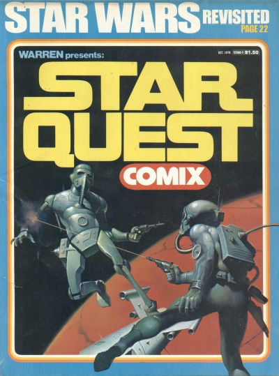 Cover for Warren Presents: Star Quest Comix (Warren, 1978 series) #[nn]