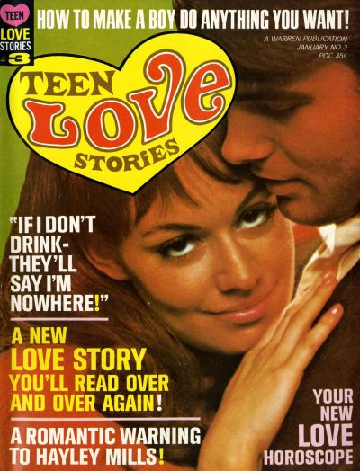Cover for Teen Love Stories (Warren, 1967 series) #3