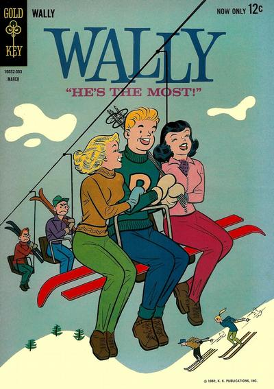 Cover for Wally (Western, 1962 series) #2