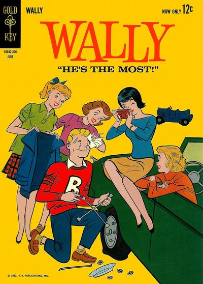 Cover for Wally (Western, 1962 series) #3