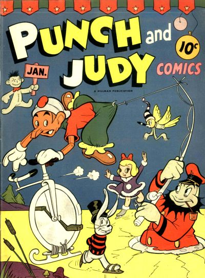 Cover for Punch and Judy Comics (1944 series) #v1#6