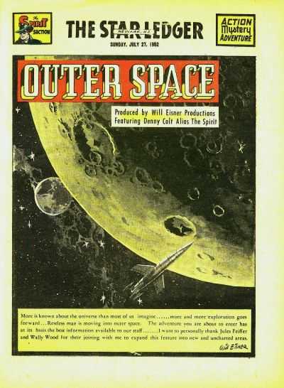 Cover for The Spirit (Register and Tribune Syndicate, 1940 series) #7/27/1952