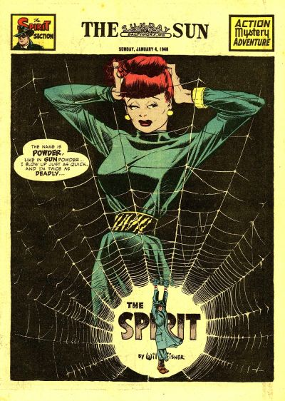 Cover for The Spirit (Register and Tribune Syndicate, 1940 series) #1/4/1948