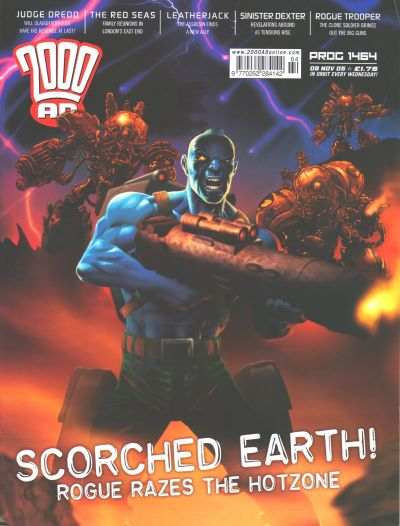 Cover for 2000 AD (Rebellion, 2001 series) #1464