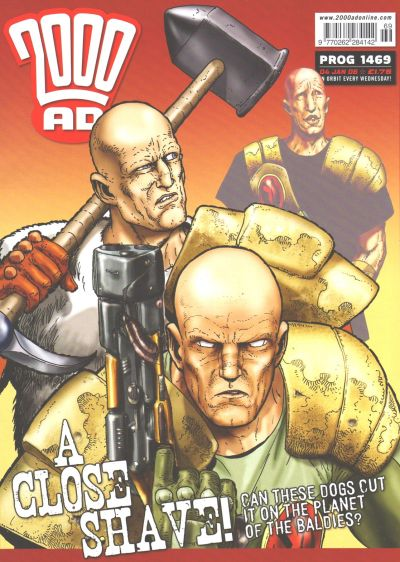 Cover for 2000 AD (Rebellion, 2001 series) #1469