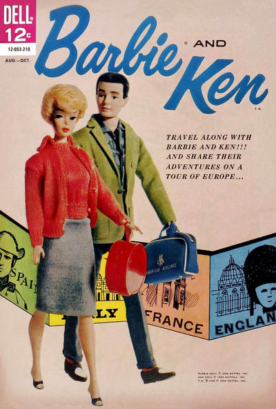 Cover for Barbie and Ken (Dell, 1962 series) #2