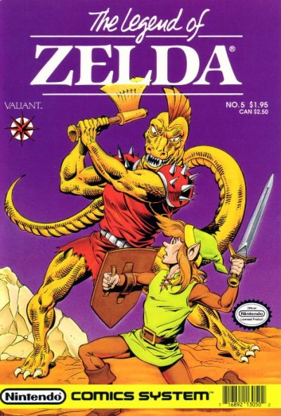 Cover for Link: The Legend of Zelda (Acclaim / Valiant, 1990 series) #5