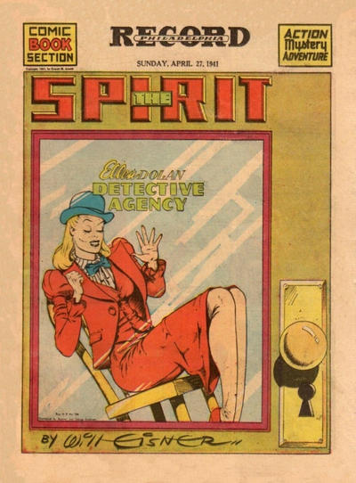 Cover for The Spirit (1940 series) #4/27/1941