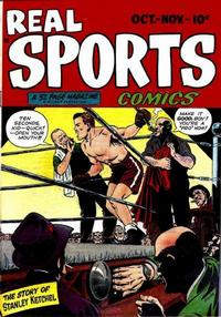 Cover for Real Sports Comics (1948 series) #1