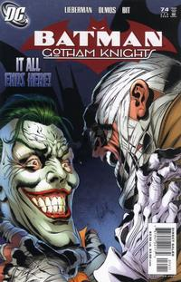 Cover Thumbnail for Batman: Gotham Knights (DC, 2000 series) #74