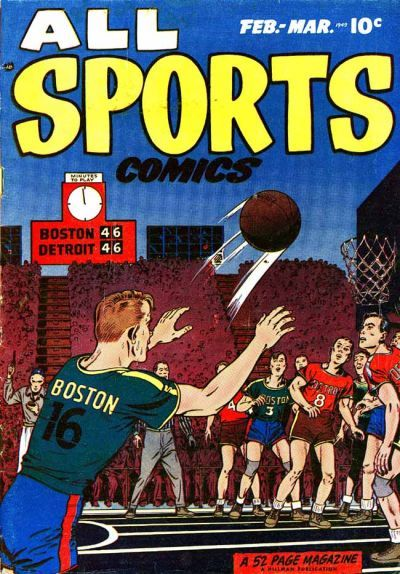 Cover for All Sports Comics (Hillman, 1948 series) #v1#3