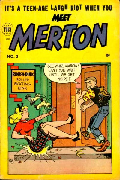 Cover for Meet Merton (1953 series) #3