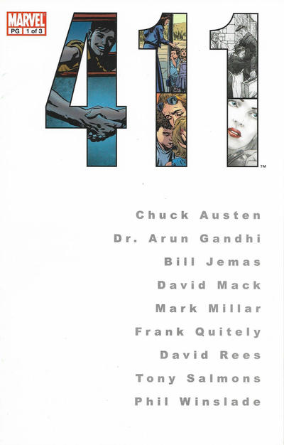 Cover for 411 (Marvel, 2003 series) #1