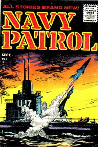 Cover Thumbnail for Navy Patrol (Stanley Morse, 1955 series) #3