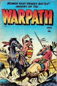 Cover Thumbnail for Warpath (Stanley Morse, 1954 series) #2