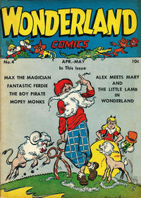 Cover for Wonderland Comics (1945 series) #4