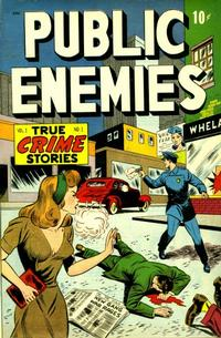 Cover Thumbnail for Public Enemies (D.S. Publishing, 1948 series) #v1#1