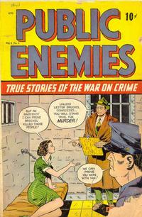 Cover Thumbnail for Public Enemies (D.S. Publishing, 1948 series) #v1#3