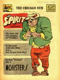 Cover Thumbnail for The Spirit (Register and Tribune Syndicate, 1940 series) #4/6/1947