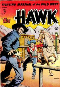 Cover Thumbnail for The Hawk (St. John, 1953 series) #9
