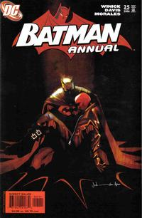 Cover Thumbnail for Batman Annual (DC, 1961 series) #25 [First Printing]