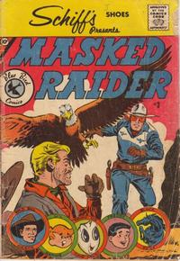 Cover Thumbnail for Masked Raider (Charlton, 1959 series) #3 [Schiff's Shoes]