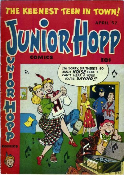 Cover for Junior Hopp Comics (Stanley Morse, 1952 series) #2