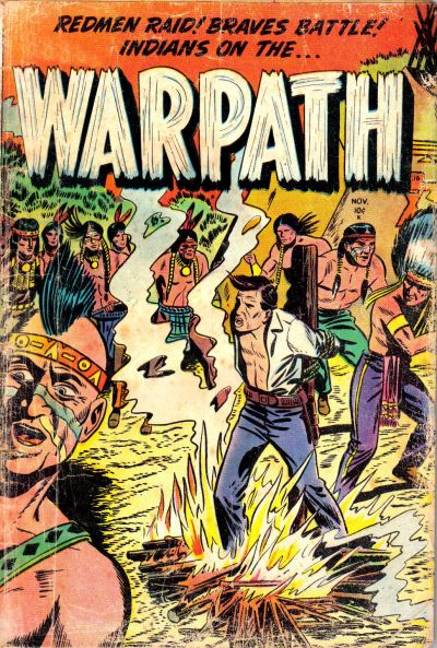 Cover for Warpath (Stanley Morse, 1954 series) #1