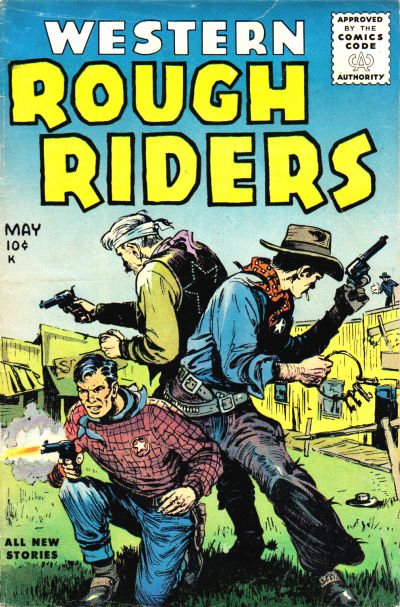 Cover for Western Rough Riders (Stanley Morse, 1954 series) #4