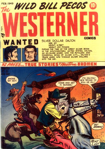 Cover for The Westerner Comics (Orbit-Wanted, 1948 series) #18
