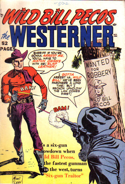 Cover for The Westerner Comics (Orbit-Wanted, 1948 series) #29