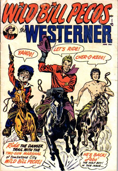 Cover for The Westerner Comics (Orbit-Wanted, 1948 series) #37