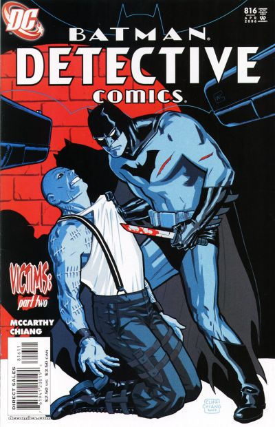 Cover for Detective Comics (1937 series) #816