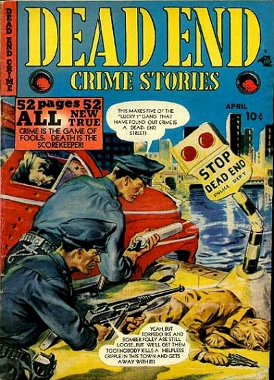 Cover for Dead End Crime Stories (Kirby Publishing Co., 1949 series)