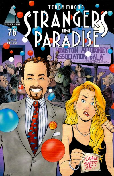 Cover for Strangers in Paradise (1997 series) #76