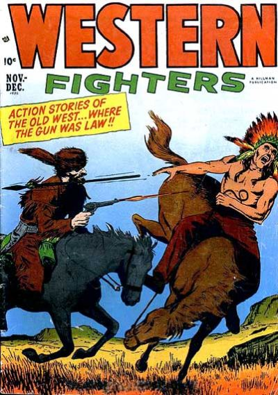 Cover for Western Fighters (1948 series) #v4#5