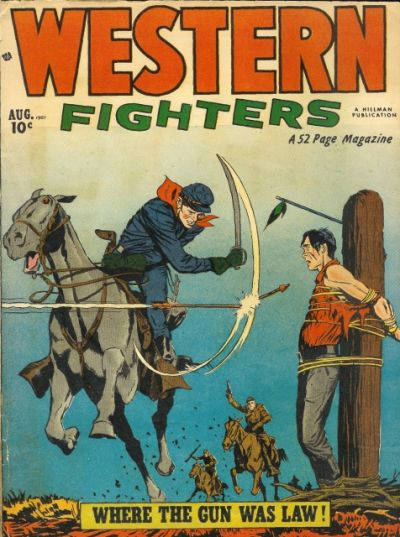 Cover for Western Fighters (1948 series) #v3#9