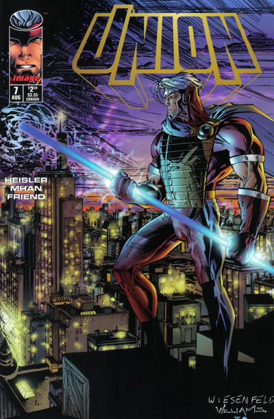 Cover for Union (Image, 1995 series) #7
