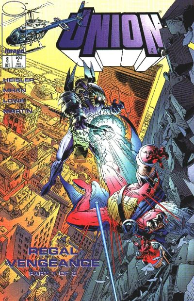 Cover for Union (Image, 1995 series) #8