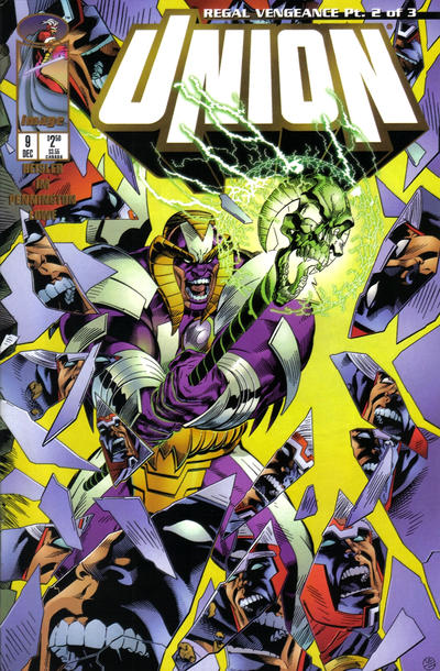 Cover for Union (Image, 1995 series) #9