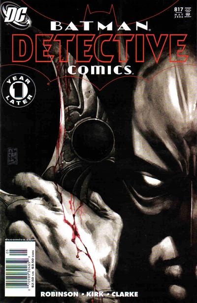 Cover for Detective Comics (DC, 1937 series) #817 [1st Printing - Newsstand]