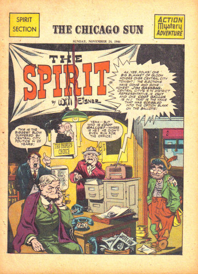 Cover for The Spirit (1940 series) #11/24/1946