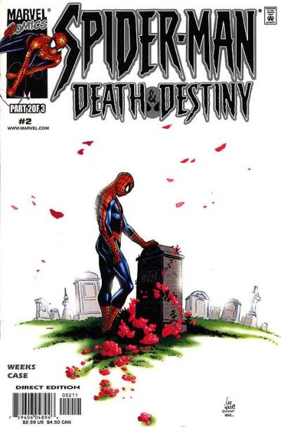 Cover for Spider-Man: Death and Destiny (Marvel, 2000 series) #2