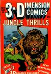 Cover for Jungle Thrills 3-D (Star Publications, 1953 series) #1