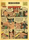 Cover for The Spirit (Register and Tribune Syndicate, 1940 series) #5/5/1946
