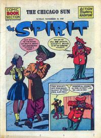 Cover Thumbnail for The Spirit (Register and Tribune Syndicate, 1940 series) #11/18/1945
